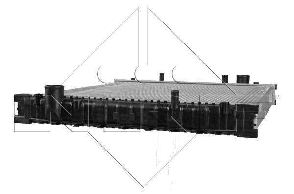 Радиатор охлаждения двигателя TOYOTA Carina E 92- (пр-во NRF). 517590
