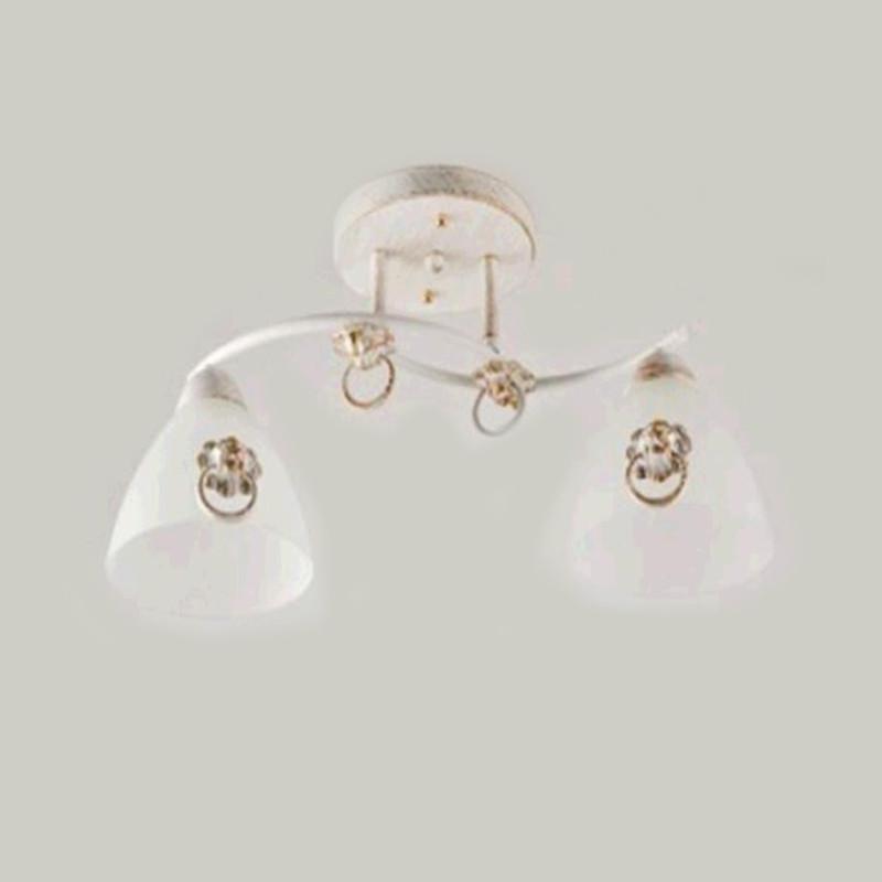 Люстра потолочная на две лампы SH-813761/2 WG   белая