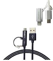 USB кабель 2в1 iPhone 5 / microusb PNGXE