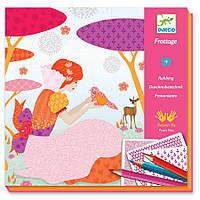 Художественный комплект рисования карандашами Красивые платья Djeco DJECO (DJ08985)