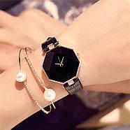 Женские наручные часы Classic черные, жіночий наручний годинник, фото 2