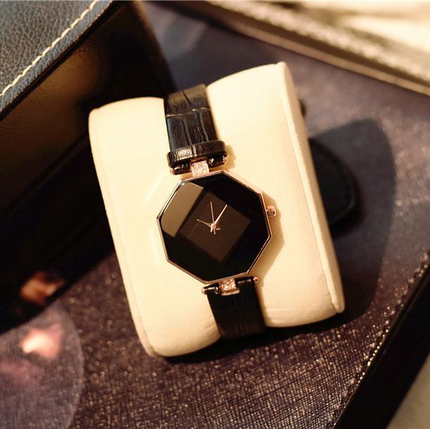 Женские наручные часы Classic черные, жіночий наручний годинник