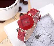 Женские наручные часы Classic красные, Жіночий наручний годинник, фото 3