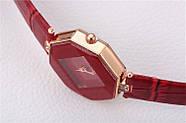 Женские наручные часы Classic красные, Жіночий наручний годинник, фото 4
