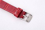 Женские наручные часы Classic красные, Жіночий наручний годинник, фото 5