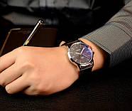Мужские часы Yazole 332 черные, Чоловічий наручний годинник, Мужские наручные часы, фото 3