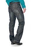 Джинсы мужские Franco Benussi 1012 темно-серые, фото 7