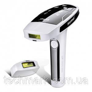 Портативный лазерный эпилятор (фотоэпилятор) Kemei KM 6812 для лица и тела