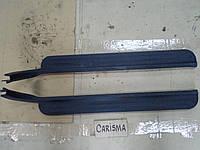 Накладка пластик порога в салон перед Mitsubishi Carisma 2001, MR792936, MR 792936, MR792937, MR 792937