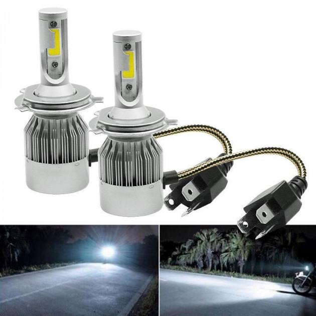 Комплект светодиодных LED ламп C6 HeadLight H4 9-32V (C6H4)