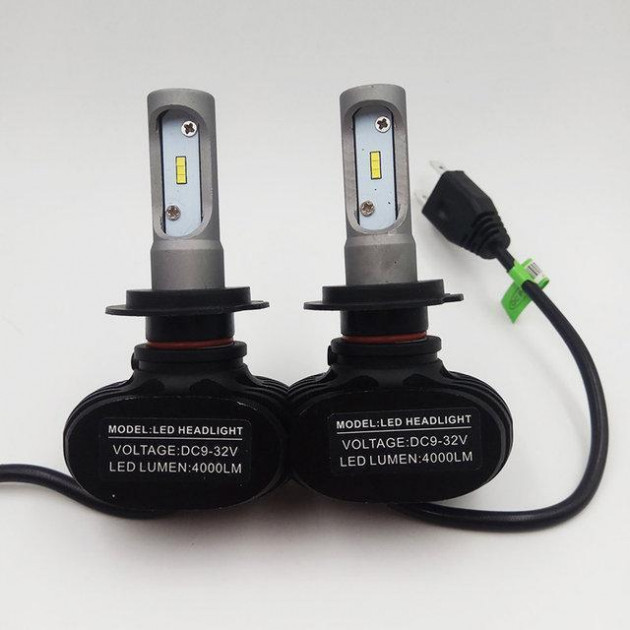 Комплект светодиодных LED ламп S1- H7 HeadLight 9-32V