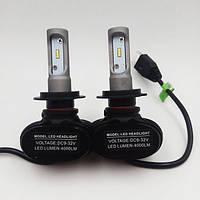 Комплект светодиодных LED ламп S1- H7 HeadLight 9-32V, фото 1