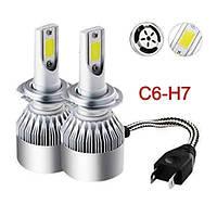 Комплект светодиодных LED ламп C6 HeadLight H7 9-32V (C6H7), фото 1