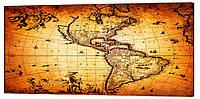 Картина на полотні Декор Карпати Карти 50х100 см (map823)