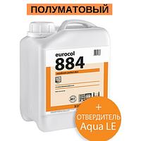 Forbo Eurocol 884 2-К дисперсионный полиуретановый лак для паркета / 4,6 л