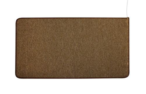 Коврик с подогревом SOLRAY UNI color (530*830 мм), коричневый