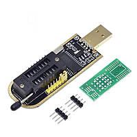 USB программатор CH341A для EEPROM и FLASH микросхем 24, 25 серий
