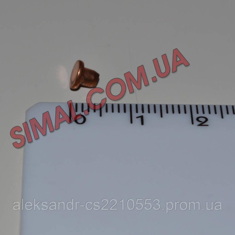 Telwin 802297 - Комплект заклепок 3.2 мм (100 шт.) Fe-Cu Ø 3x3,2