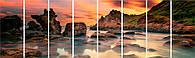 Модульная картина гигант Декор Карпаты 390х115 см (m8-664)