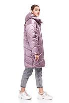 Новинка! Зимнее пальто-кокон на синтепухе Наоми размеры 44, фото 2