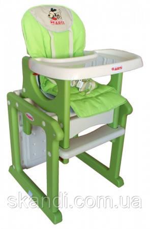 Стульчик для кормления ARTI Паули Песик (Зеленый)