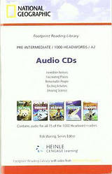 Footprint Reading Library 1000 A2 Audio CDs