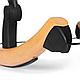 Стильный шезлонг качалка Kinderkraft Finio с регулировкой ремней безопасности, фото 8
