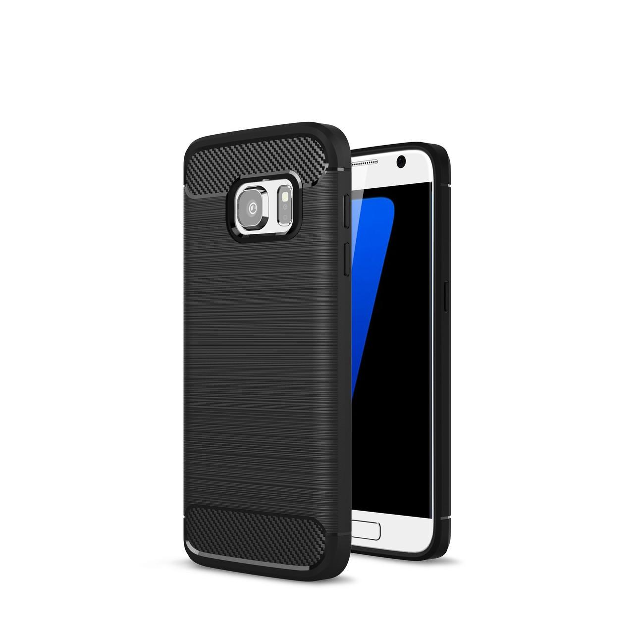 Чехол для Samung Galaxy S7 Carbon