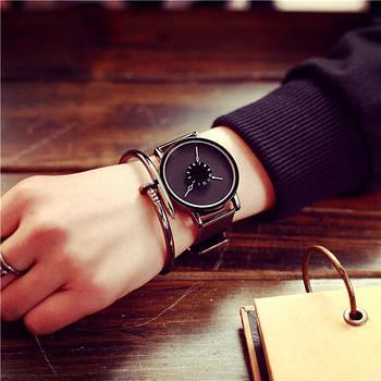 Женские часы черный циферблат, жіночий наручний годинник, женские наручные часы