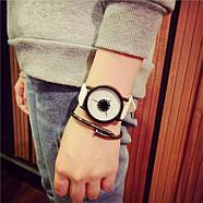 Женские часы белый циферблат, наручний жіночий годинник, кварцевые женские наручные часы, фото 2