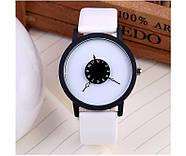 Женские часы белый циферблат, наручний жіночий годинник, кварцевые женские наручные часы, фото 3