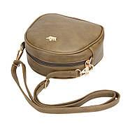 Женская сумка через плечо Crown корона оливковая, Жіноча сумочка, Клатч, фото 5