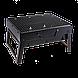 Мангал раскладной BBQ Grill Portable 35x27 см, фото 6