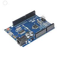 Arduino UNO R3, ATmega328P, CH340G, MicroUSB