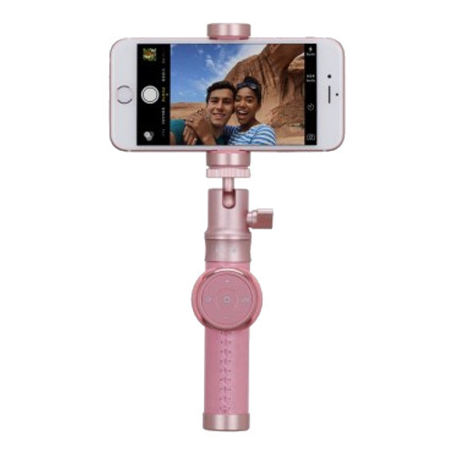 Монопод (селфи-палка) Momax Selfie Pro 90 см (KMS4) розовый
