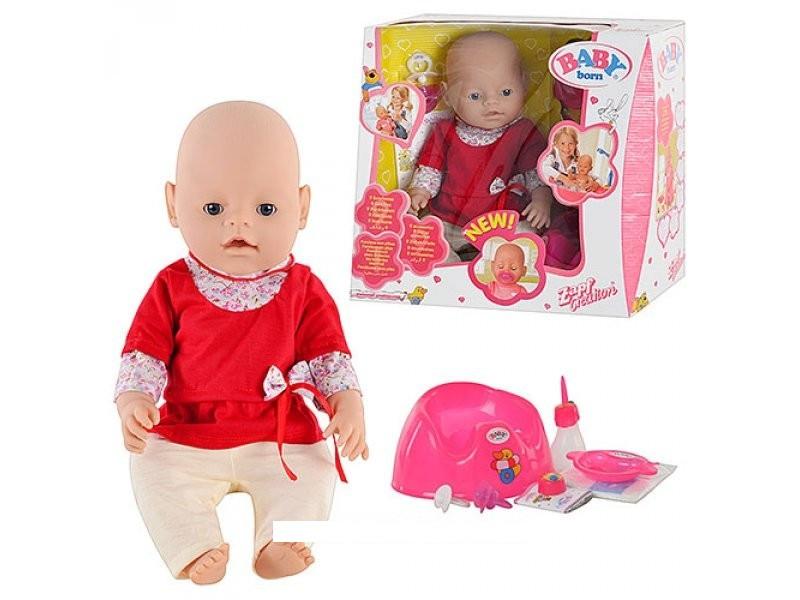 Кукла-пупс Baby Born 8001-5, 9 функций
