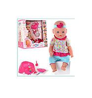Кукла-пупс Baby Born 8001-8, 9 функций