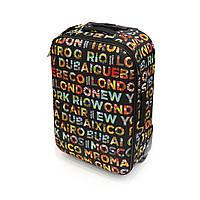 Легкий чемодан 55х35х20 см на 2-х колесах David Jones