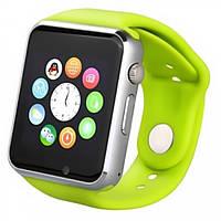 Зелёные умные часы Smart Watch A1