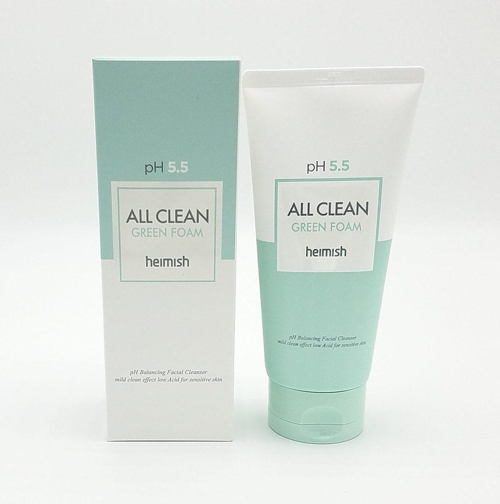 Heimish All Clean Green Foam Пенка для умывания