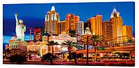Картина на холсте Декор Карпаты Лас Вегас 50х100 см (G1428)