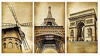 Модульная картина Декор Карпаты 100х53 см (M3-t132)