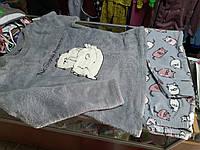 Пижама женская махровая   р.42 - 52
