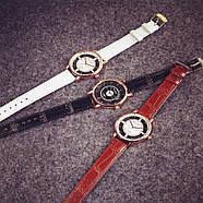 Женские наручные часы Rosivga коричневые, фото 2