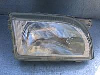 Оригинальная правая фара б/у на Ford Transit год 1991-2000