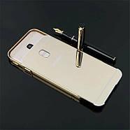 Чехол для Galaxy J3 2017 / Samsung J330 зеркальный золотистый, фото 4