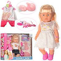 Кукла-Пупс WZJ013-1-2 с аксессуарами