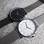 Женские часы Classic steel watch серебряные, жіночий наручний годинник, с металлическим ремешком, фото 4