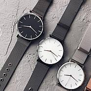 Женские часы Classic steel watch черные, жіночик годинник, женские часы с металлическим ремешком, фото 4