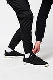 Мужские брюки с карманами Thor черные(зима) на флисе  бренд ТУР, фото 5